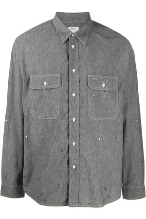 VISVIM Logo print cotton shirt