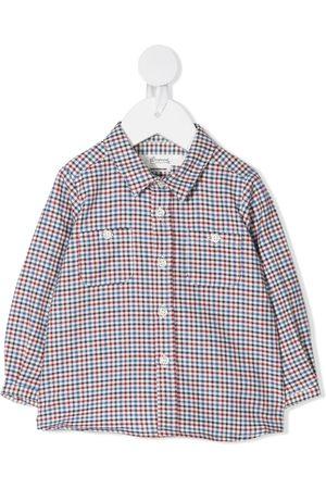 BONPOINT Long Sleeve - Mico gingham check shirt