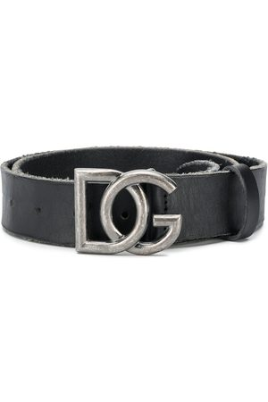 Dolce & Gabbana Adjustable DG buckle belt