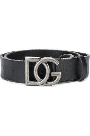 Dolce & Gabbana Men Belts - Adjustable DG buckle belt