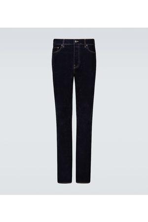 AMIRI Relaxed velvet denim jeans