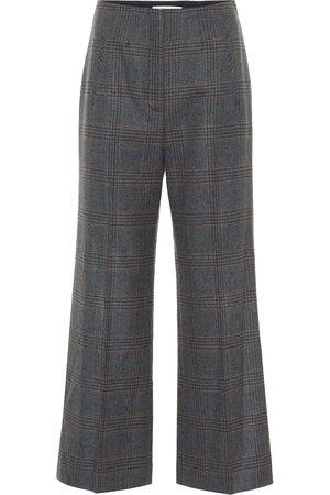 VERONICA BEARD Dova cropped straight wool pants