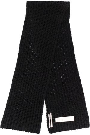Rick Owens Men Scarves - Chunky knit scarf