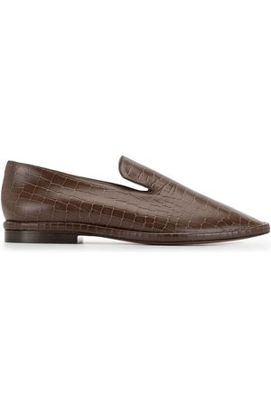 Robert Clergerie Olympia crocodile-effect loafers