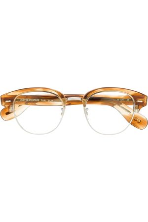 Oliver Peoples Tortoiseshell detail glasses
