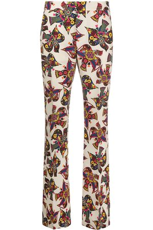 La DoubleJ Saturday Night bird print trousers