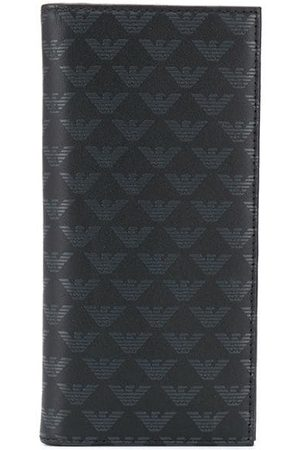 Emporio Armani Logo leather cardholder