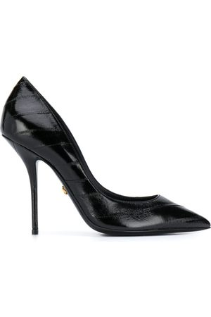 Dolce & Gabbana Pointed-toe leather pumps