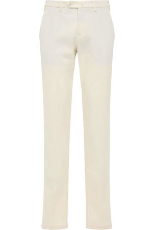 Loro Piana 18cm Soft Stretch Cotton Pants
