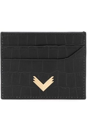 Manokhi Wallets - Crocodile embossed cardholder