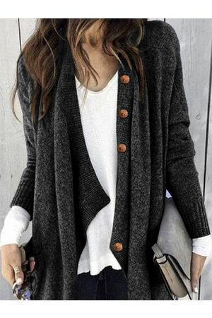 YOINS Button Front Long sleeves Cardigan