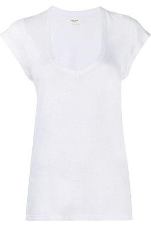 Isabel Marant U-neck longline T-shirt