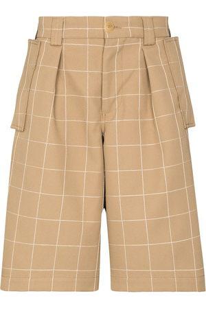 Jacquemus Quadri check Bermuda shorts