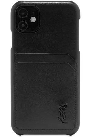Saint Laurent Men Phone Cases - Tiny Monogram iPhone 11 Pro Case