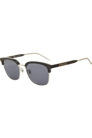 Gucci Gucci D-Frame Metal And Acetate Sunglasses