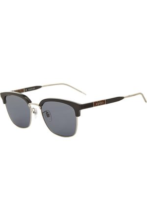 Gucci Men Sunglasses - Gucci D-Frame Metal And Acetate Sunglasses