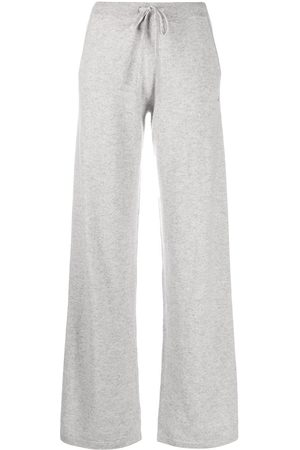Chinti And Parker Wide leg cashmere track pants