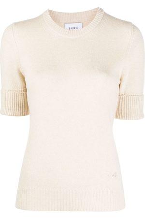 Barrie Blabel cashmere short-sleeve jumper