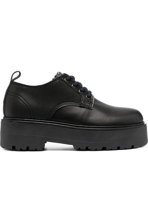 Tommy Hilfiger Fleece-tongue leather shoes