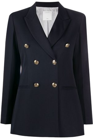 Sandro Double-breasted tailored blazer
