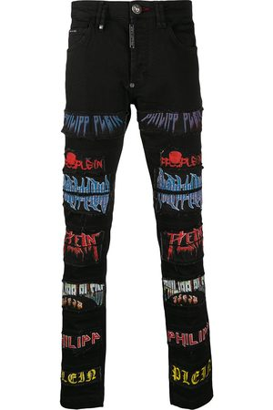 Philipp Plein Super rock patch jeans