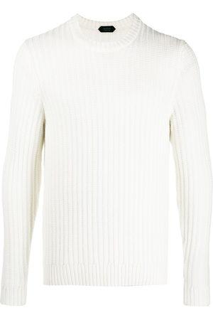 ZANONE Ribbed virgin-wool jumper