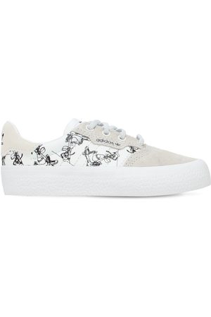 adidas Disney Canvas & Leather Lace-up Sneakers
