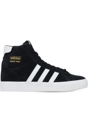 adidas Basket Profi Leather Lace-up Sneakers