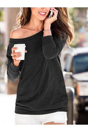 YOINS Stylish Casual Round Neck Long Sleeves Tee