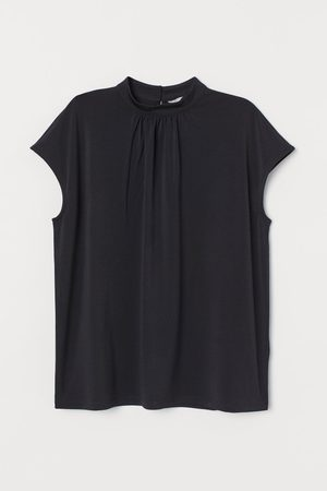H&M Stand-up collar top
