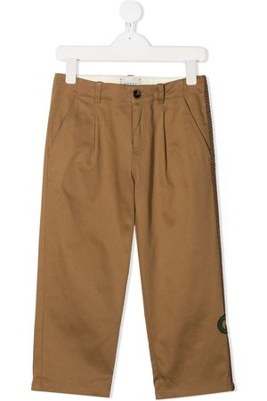 Gucci Mid-rise chino trousers