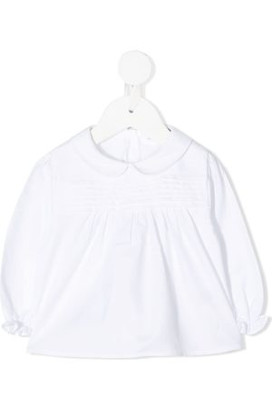 KNOT Shirts - Pleated baby blouse