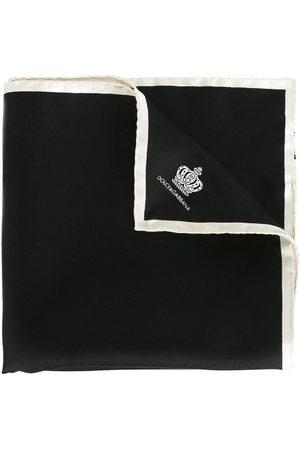 Dolce & Gabbana Men Handkerchiefs - Crown print pocket square