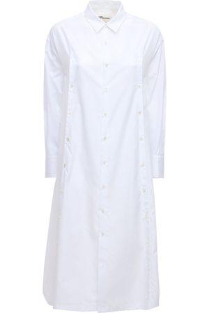 NOIR KEI NINOMIYA Women Casual Dresses - Cotton Poplin Shirt Dress