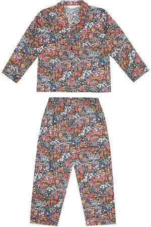 BONPOINT Girls Pyjamas - Dormeur floral cotton pajamas