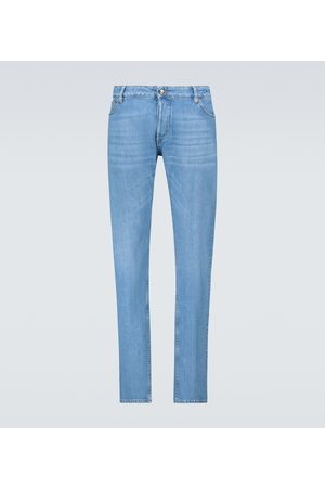 Thom Sweeney Slim-fit jeans