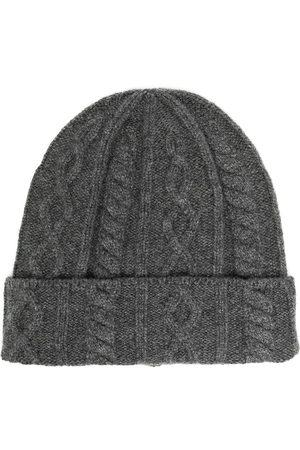 Brunello Cucinelli Men Beanies - Cable knit beanie hat