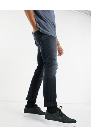 Jack & Jones Intelligence Glenn super stretch slim tapered jean in black
