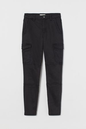 H&M Women Cargo Trousers - Slim Fit Cargo trousers