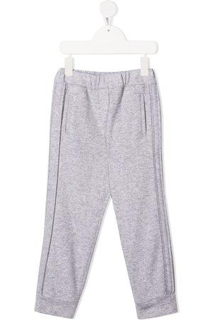 Brunello Cucinelli Kids Cashmere-blend track pants