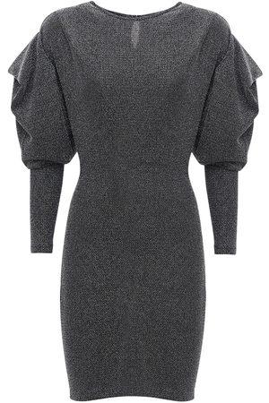Isabel Marant Women Dresses - Waden Lurex Mini Dress