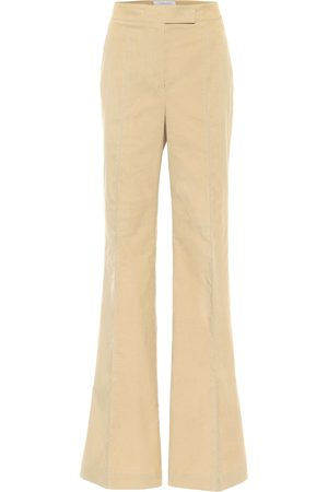 GABRIELA HEARST Leda flared cotton pants