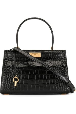 Tory Burch Crocodile embossed satchel
