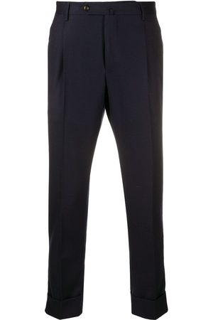 PT01 Pleat-detail trousers