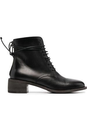 MARSÈLL Leather lace-up boots