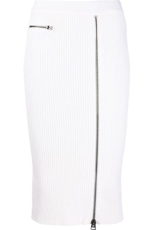 Tom Ford Zipped rib-knit fitted skirt