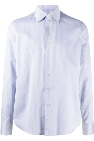 DELL'OGLIO Button-down fitted shirt