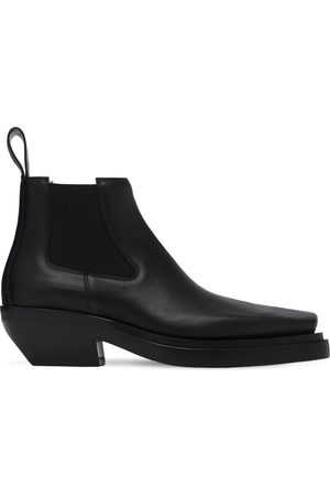 Bottega Veneta Men Boots - Mid Leather Boots