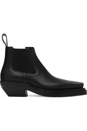 Bottega Veneta Mid Leather Boots