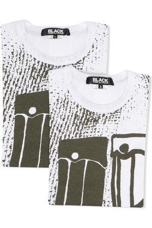 Comme des Garçons Short Sleeve - Graphic print cotton T-shirt
